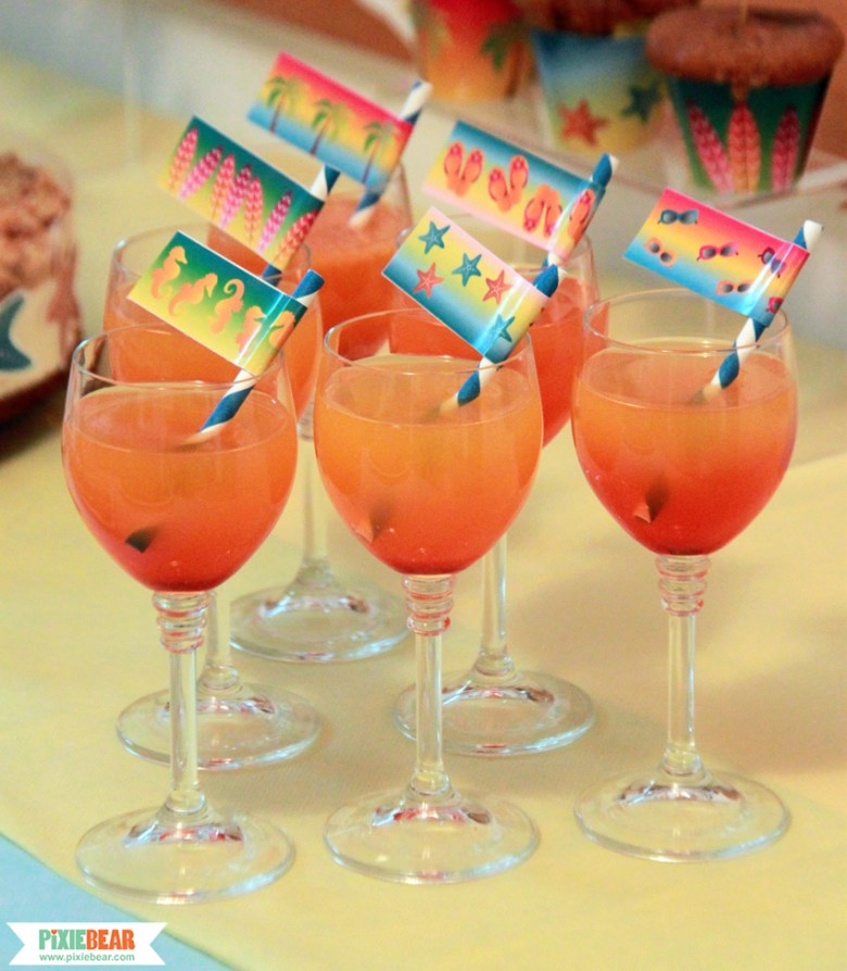 Simple Ombre Drinks Recipe for a Summer Party by Pixiebear