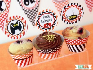 Halloween Party Printables by Pixiebear
