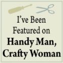 Pixiebear Featured on Handy Man Crafty Woman