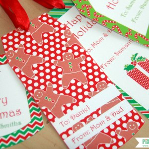Christmas Gift Tags by Pixiebear Party Printables