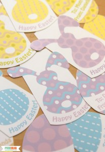 Easter Gift Tags by Pixiebear Party Printables