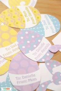 Easter Favor Tags by Pixiebear Party Printables