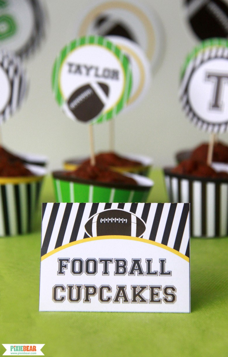 Tailgate Party Ideas by Pixiebear Party Printbales