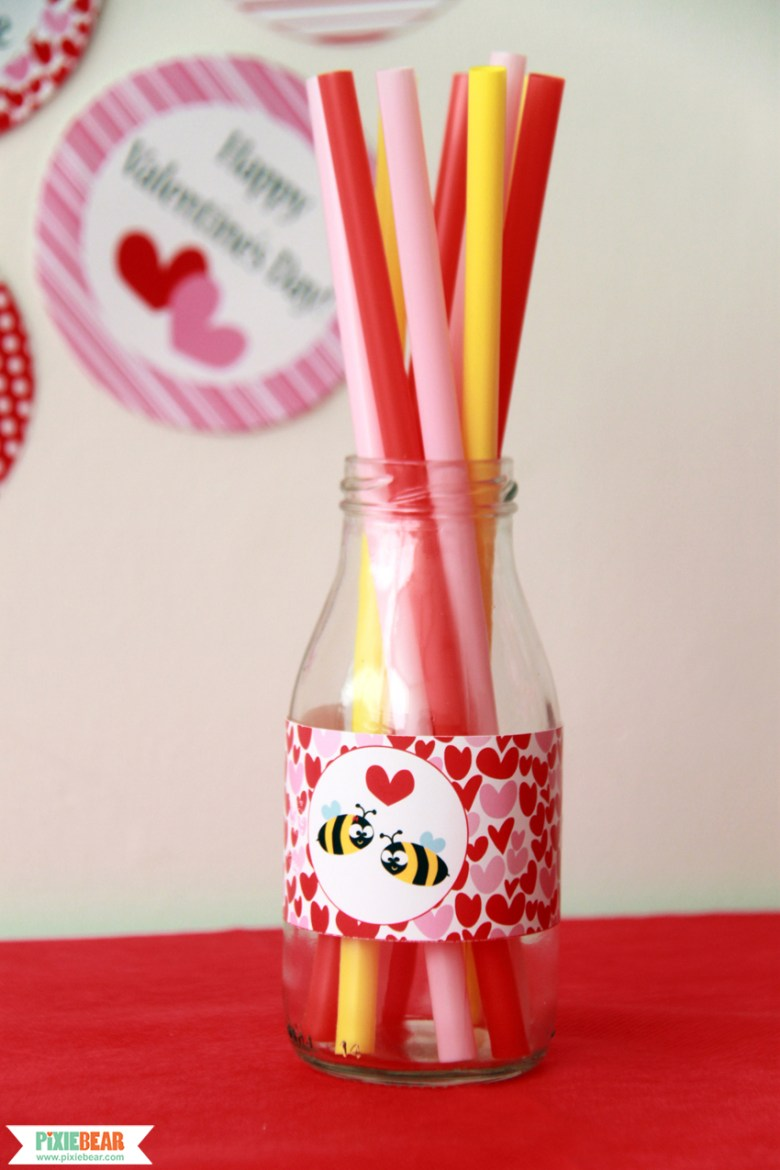 Valentine's Day Party Printable by Pixiebear Party Printables