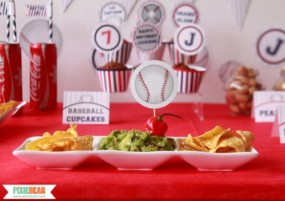 Baseball Party Ideas by Pixiebear.com