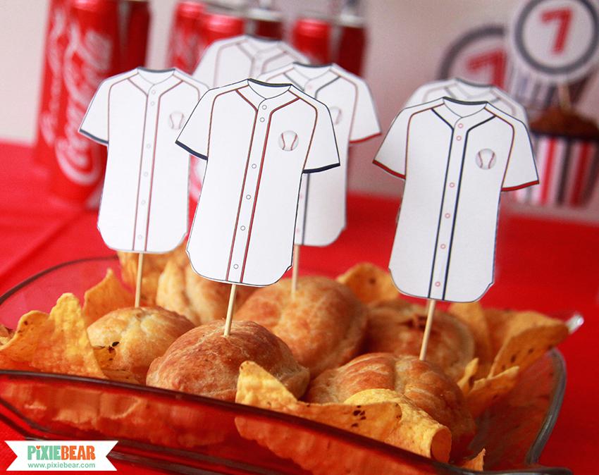 Baseball Birthday Party Ideas by Pixiebear.com