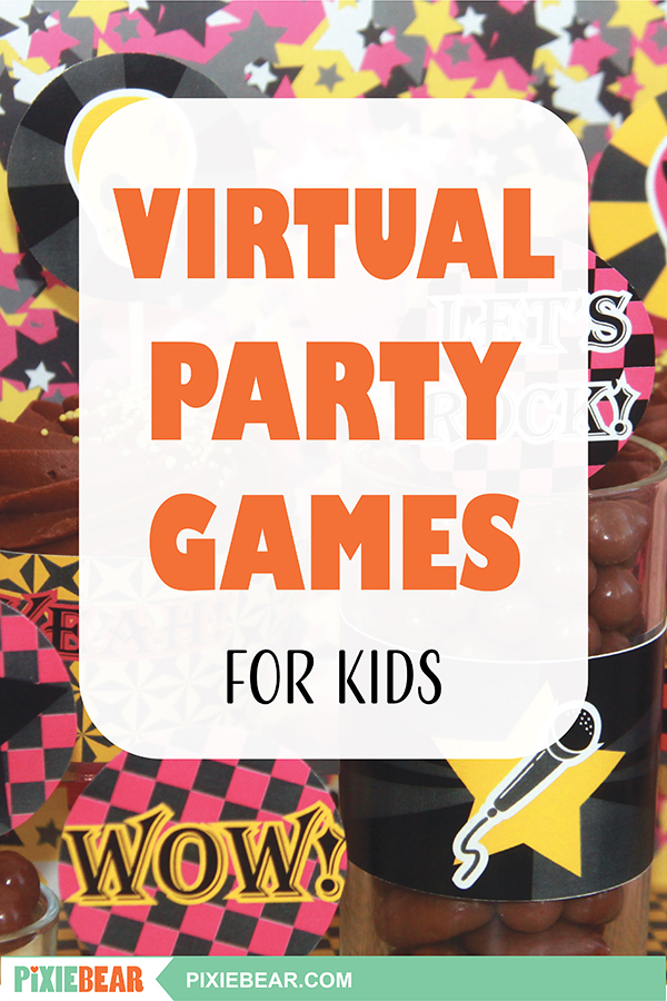 Virtual party games for kids