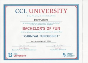 Carnival Cruise Funologist