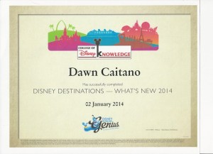 Disney Destinations what's new in 2014