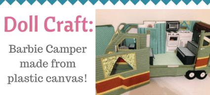 Doll Craft: Plastic Canvas Doll Camper