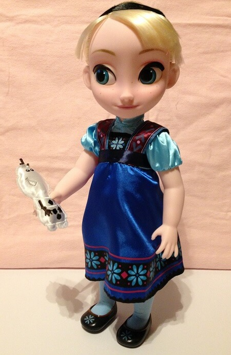 Disney Animator Doll Review: Elsa.