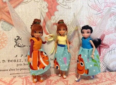 Dresses for Fairy dolls.