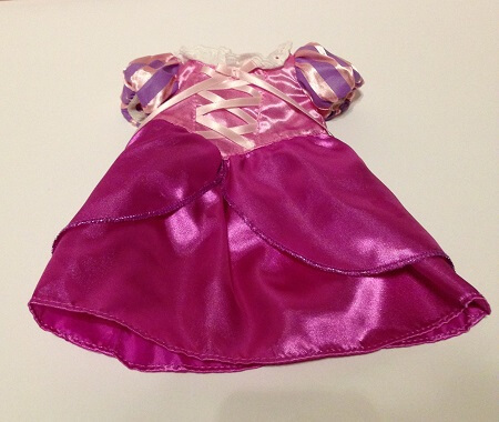 Disney Animator Doll Rapunzel Dress.