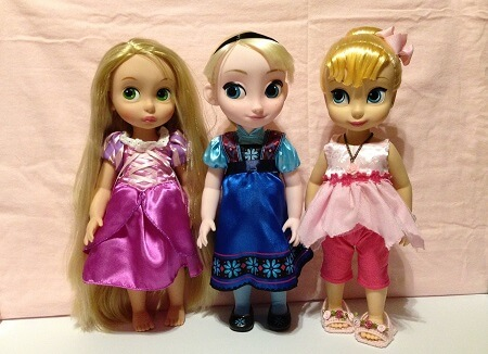 Our Disney Animator Dolls.