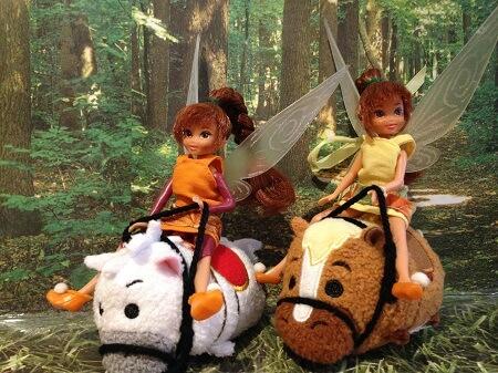 Fairies with Tsum Tsums.