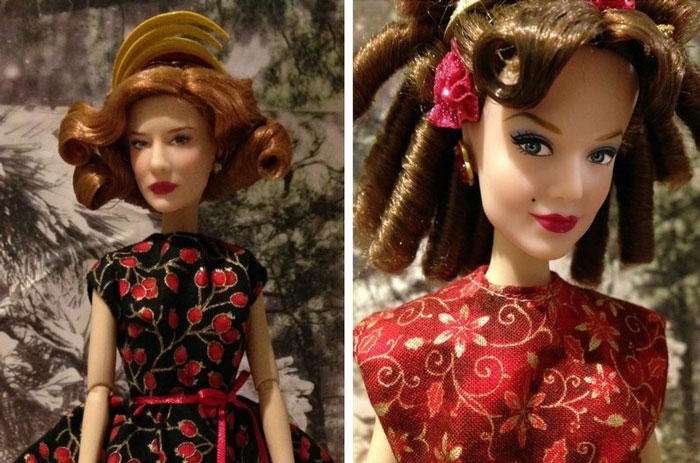 Images Of Anastasia And Lady Tremaine In Holiday Dresses