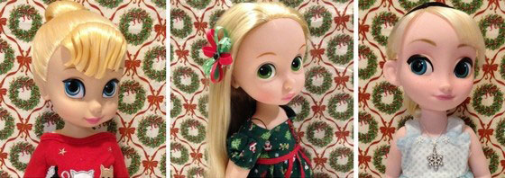Image Of Our Disney Animator Dolls