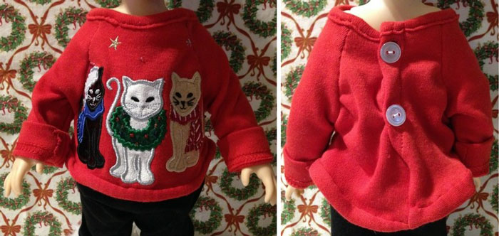 Image Of Red Sweater From Previous Post