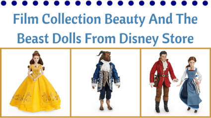 Doll News: Film Collection Beauty And The Beast Dolls