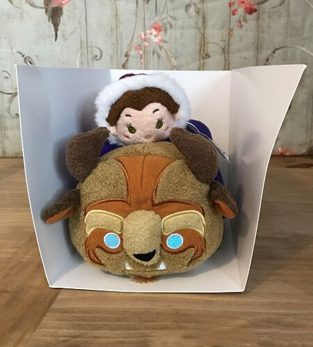 Opening The Winter Belle And Beast Tsum Tsum Subscription Box