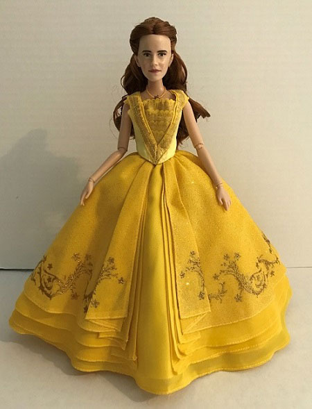 Live Action Beauty And The Beast Doll Review: Belle