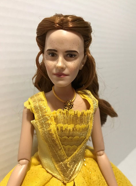 A Look At Belle's Ball Gown From The Film Collection Doll Series