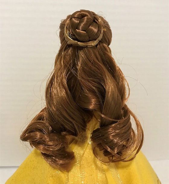 Belle Doll With Hair In A Bun