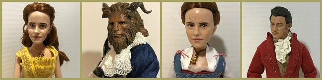 Images Of The Beauty And The Beast Film Collection Dolls