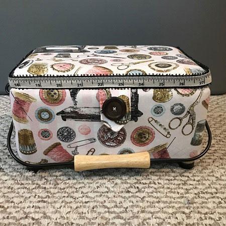 Pink Sewing Box