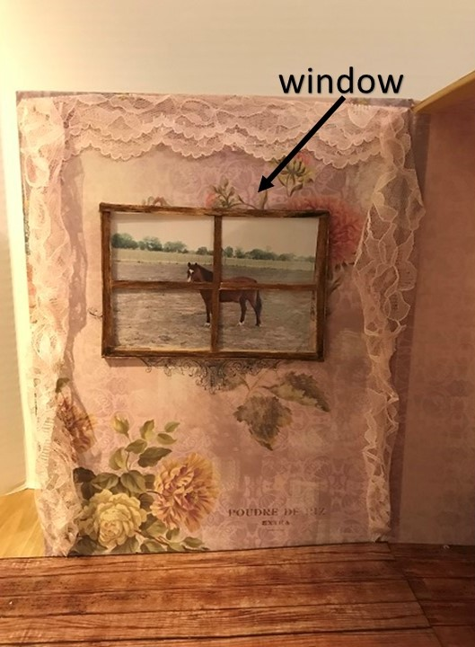 Window In Doll Craft Room