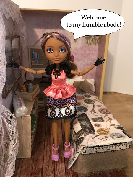 Image Of Cedar Wood Doll: Welcome To My Home
