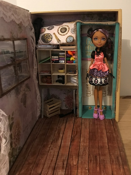 Doll Craft Room Inside A Box