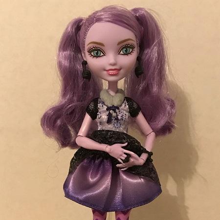 Kitty Cheshire's Purple Skirt