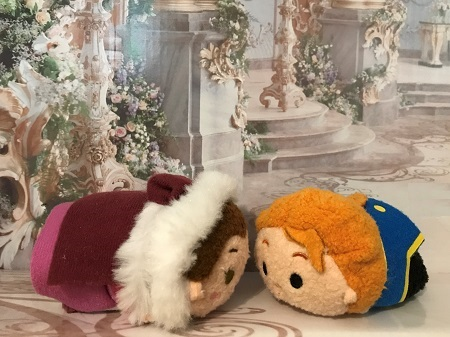 Winter Belle Tsum Tsum With The Prince Tsum Tsum
