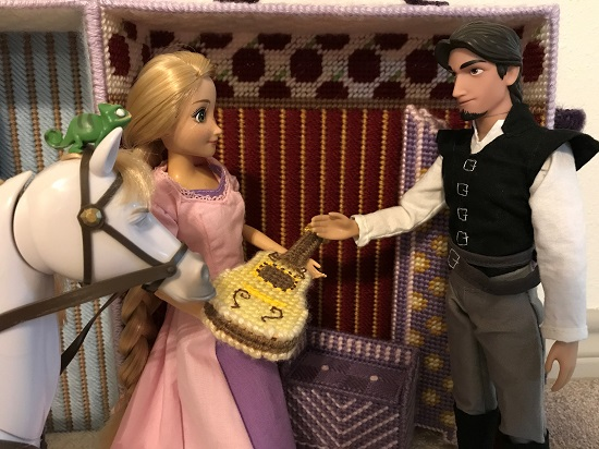 Flynn Ryder Doll Talking To Rapunzel