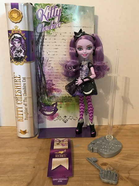 Review Of Ever After High Kitty Cheshire Doll.