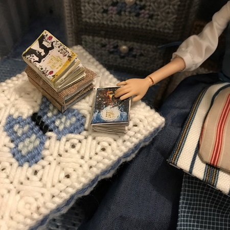 DIY Beauty And The Beast Books Themed Books For Barbie Dolls