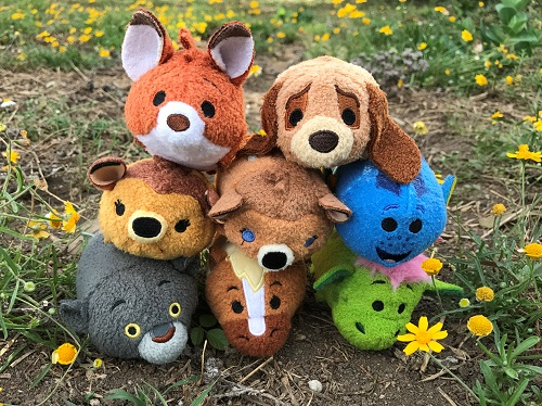 Image of our mini tsum tsum collection!