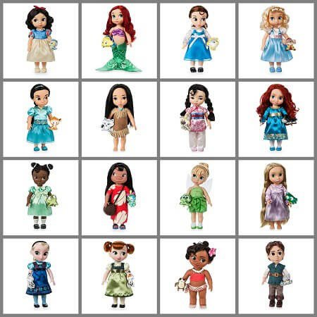 2017 Disney Animator Doll Collection.