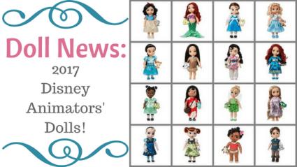 Doll News: 2017 Disney Animators' Dolls
