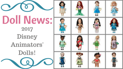 Doll News: 2017 Disney Animators' Dolls