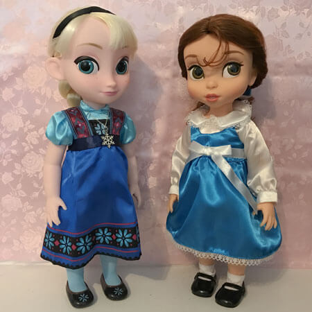 Disney Animator Dolls: Belle and Elsa