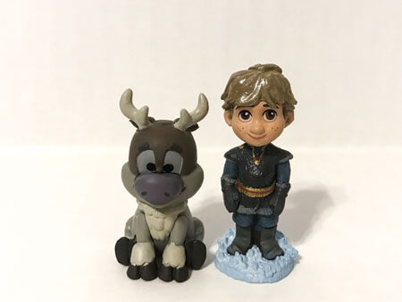 Disney Animators Littles: Kristoff and Sven.