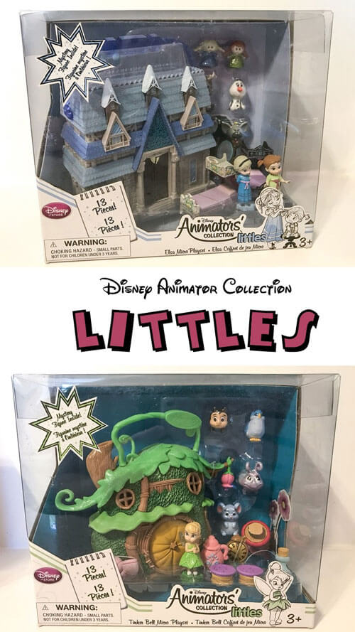 Disney Animators Collection Mini Figure Review.