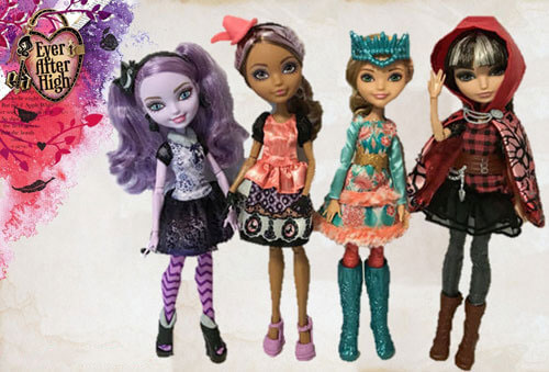 Our Ever After High Doll Collection
