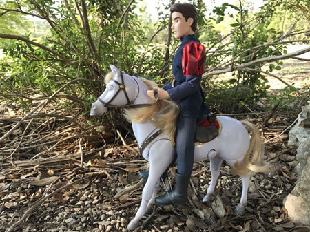 Prince Phillip Doll On Maximus