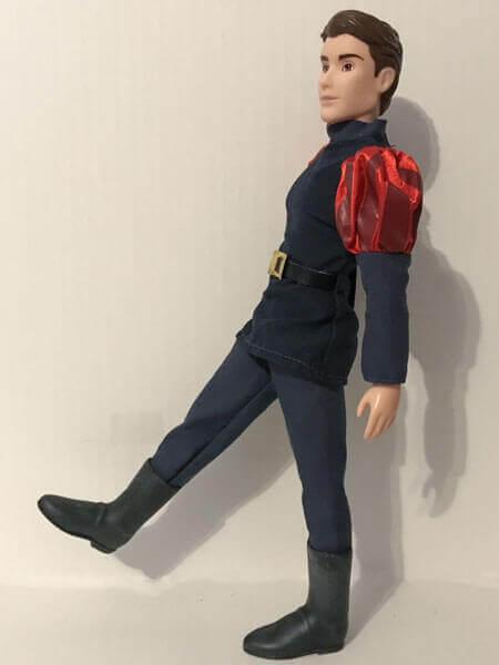 Prince Phillip Leg Articulation.