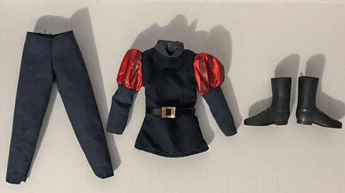 Disney Store Classic Prince Phillip Doll Outfit.