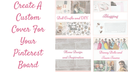 Create A Custom Cover For Your Pinterest Boards