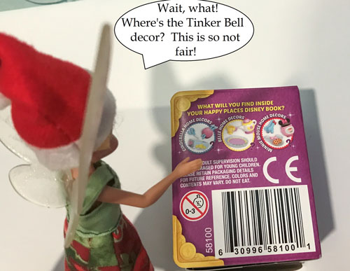 Wait! Where's The Tinker Bell Decor?